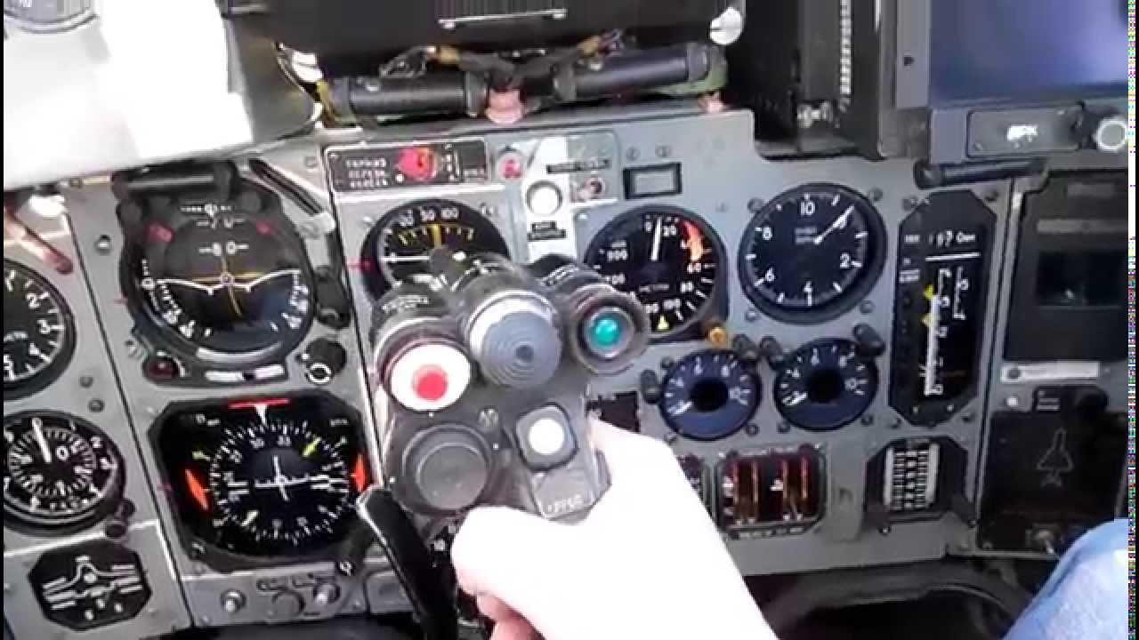MiG-29 cockpit part 1