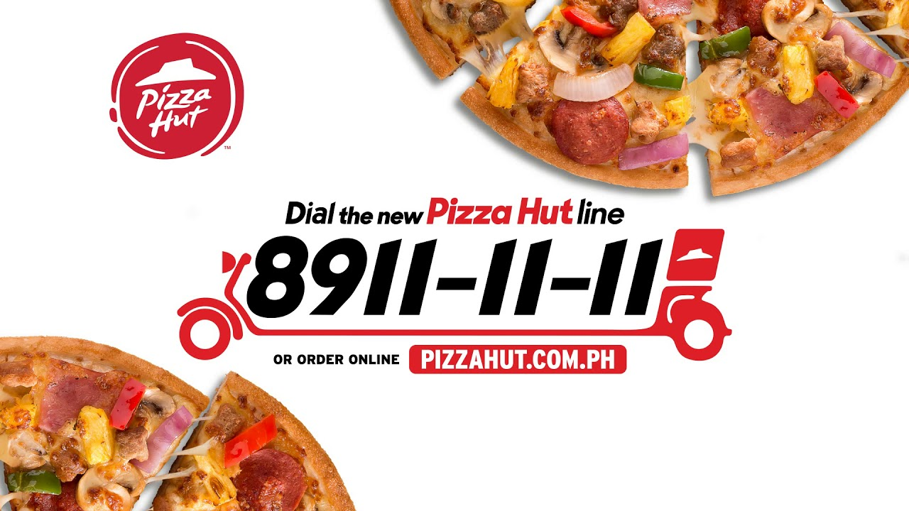 For your Pizza Hut Cravings call 8911-1111