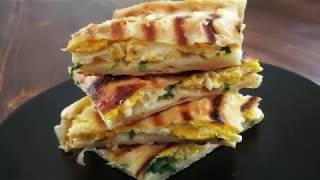 5 Dakikada Yumurtalı Kolay Börek Tarifi - Kahvaltıya ne yapsam?