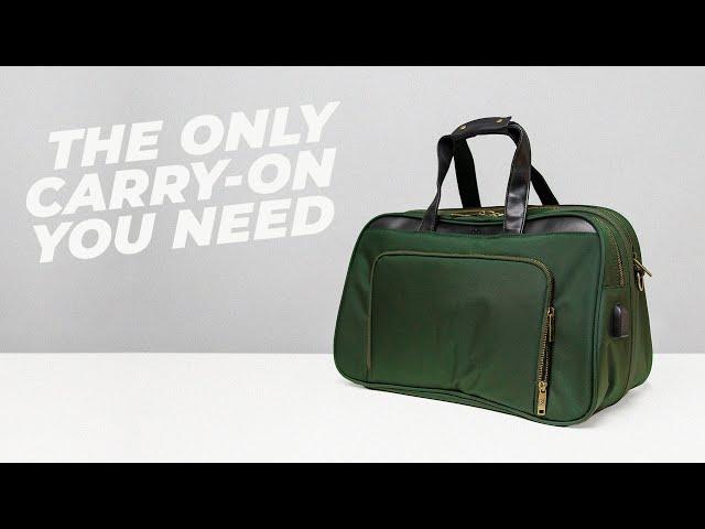 The BEST Minimalist Travel Bag — Nomad Lane Bento Bag v3 and v3 SPORT review • Effortless Gent