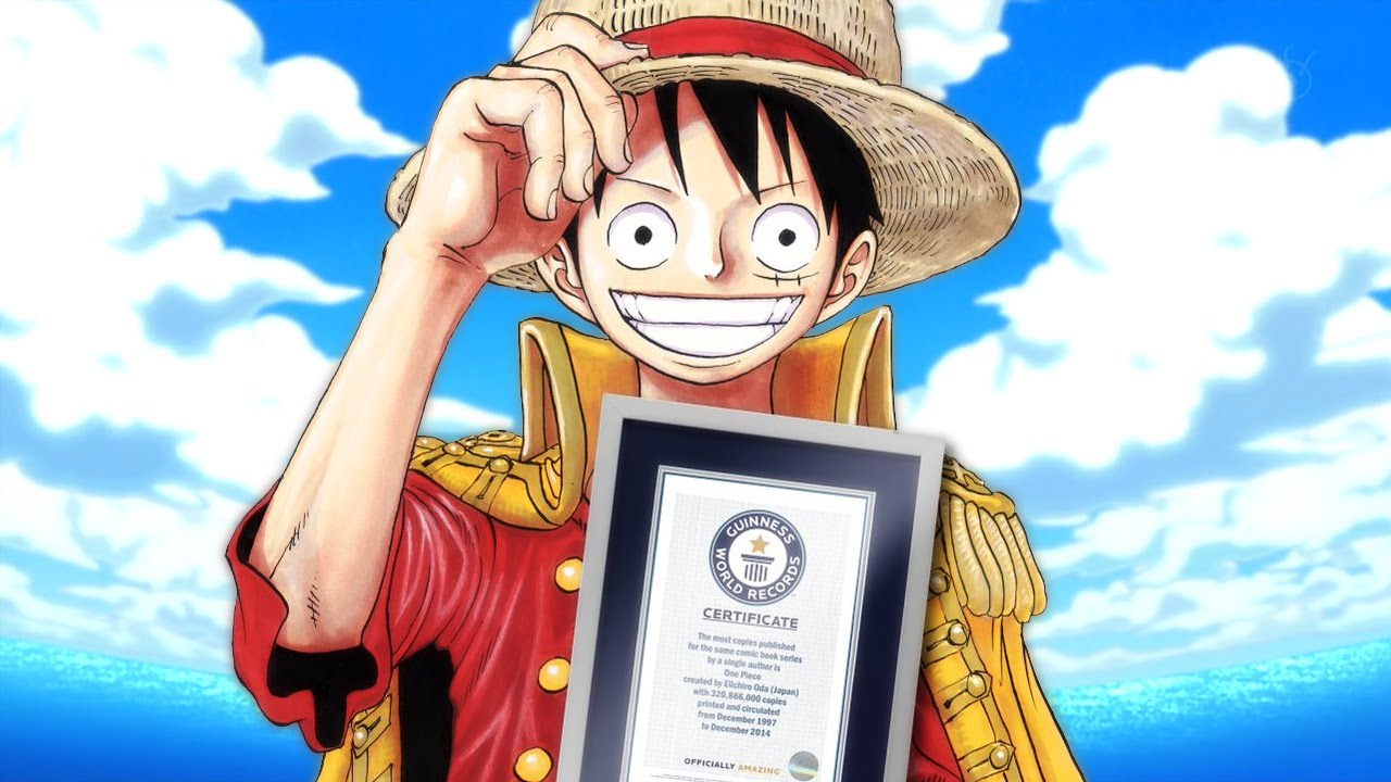 One Piece Bate Recorde e Entra Para o Guinness Book - YouTube