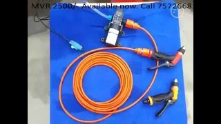12v 60w portable car washer call 7572668 to buy