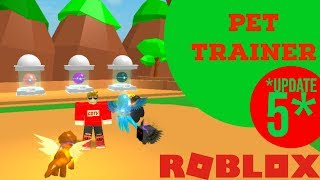🔴 ROBLOX PTS LIVE 🔴 - PET TRAINER SIMULATOR | NEUES UPDATE 5 | TIER 7 | RIESIGE PET GIVEAWAY!