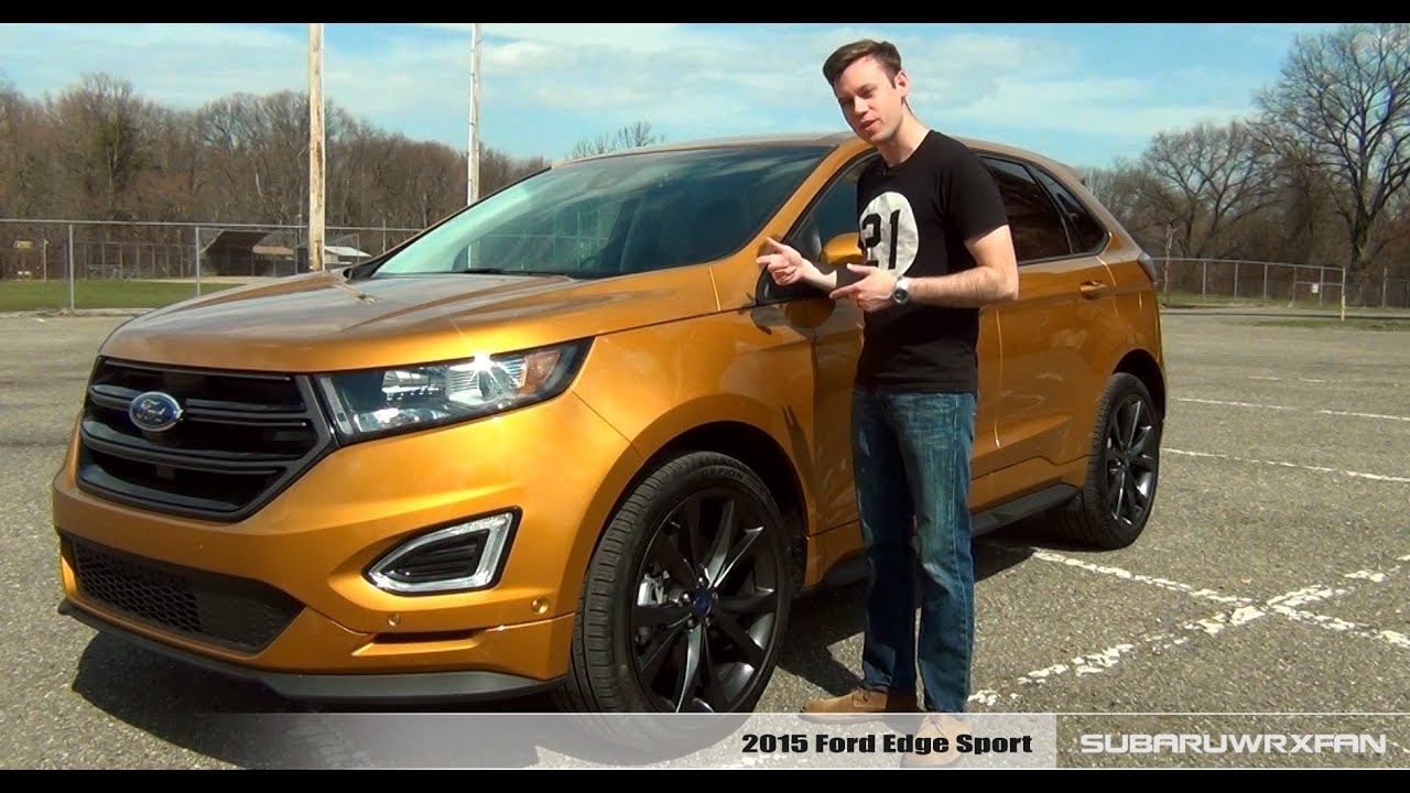 Review 2015 Ford Edge Sport  YouTube