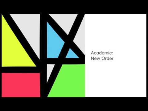 New Order  - Academic (Official Audio)
