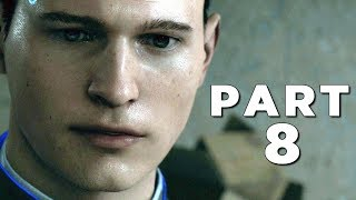DETROIT BECOME HUMAN Walkthrough Gameplay Part 8 - HANK (PS4 Pro)