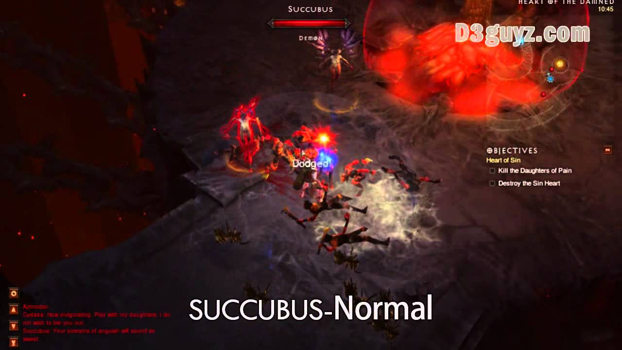 diablo 3 succubus