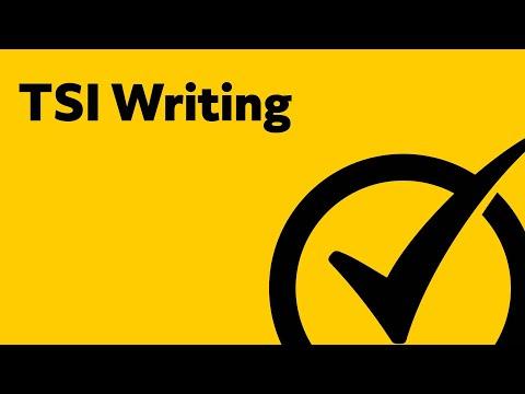 TSI Writing Practice - Study Guide
