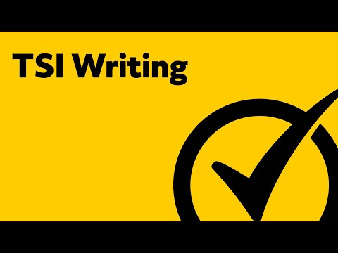 TSI Writing Practice - Study Guide