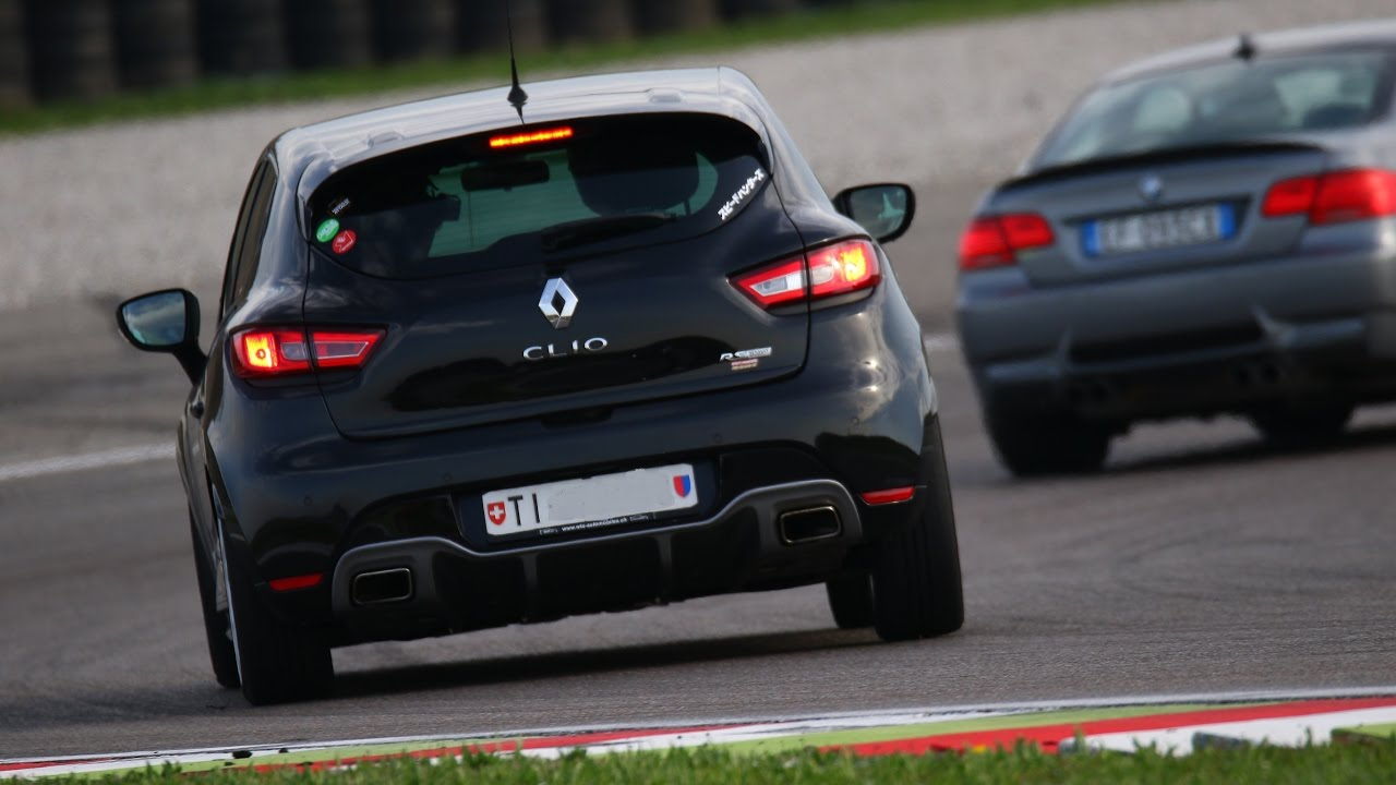 clio 4 rs trophy vs bmw m3 franciacorta trackday youtube