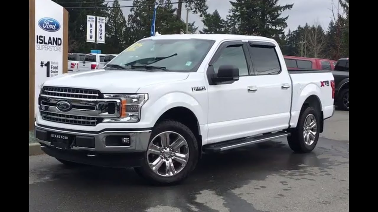 2018 Ford F-150 XLT XTR 302A EcoBoost SuperCrew Review  Island Ford - YouTube