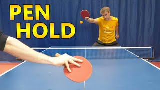 Chinese Style Table Tennis