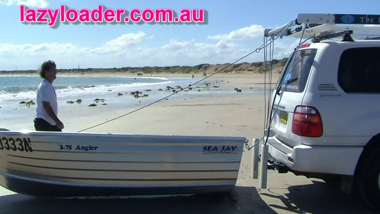 The Lazy Loader Boat Loader Youtube