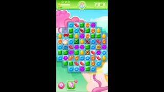 Candy Crush Jelly Level 19 *Crack the frosting to find the Pufflers*