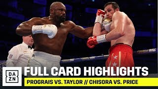 FULL CARD HIGHLIGHTS | Prograis vs. Taylor // Chisora vs. Price