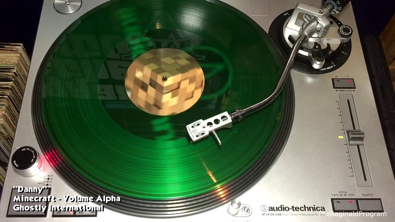 Minecraft Volume Alpha Side B Vinyl Rip Ghostly International