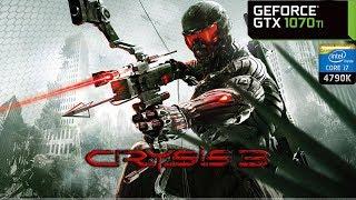 Crysis 3 - GTX 1070 Ti + i7 4790K   PC Max Settings 1440p