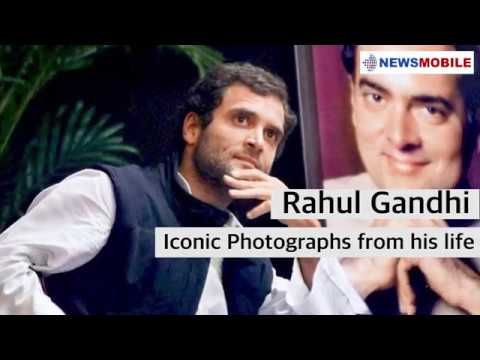 Rahul Gandhi turns 49! Unseen pictures from his life