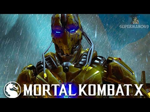"100% DAMAGE & DOUBLE FLAWLESS VICTORY WITH CYRAX! - Mortal Kombat X: ""Cyrax"" Gameplay"