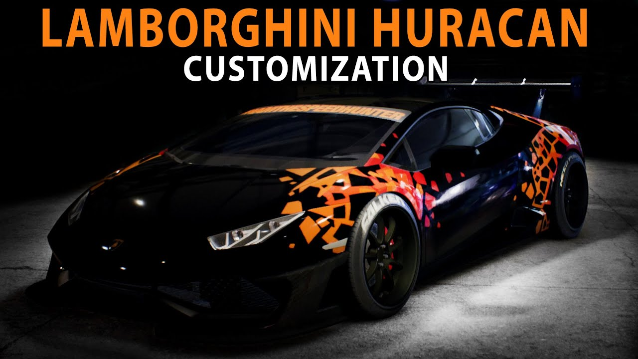 nfs 2015 lamborghini huracan speed art customization. Black Bedroom Furniture Sets. Home Design Ideas