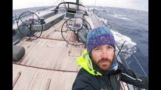 Delivering an amazing 82ft carbon sailing yacht - Ep54 - The Sailing Frenchman