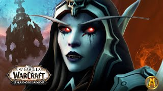 Escaping The Maw & Jailer's Army - All Cutscenes [World of Warcraft: Shadowlands Beta Lore]