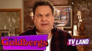 Murray goldberg calls it as is... but mostly he you a moron. watch the goldbergs late nights on tv land!#thegoldbergs #tvlandthe vcr-loving, mixtape...