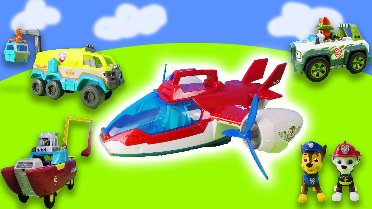 Paw Patrol Adventure: Rescuing a horse, rabbits and cars | Police Training | Toy Story