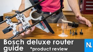 Bosch Deluxe Router Guide RA1054 | product review