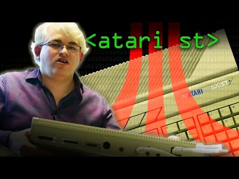 Atari ST: Accidental Musical Workhorse - Computerphile