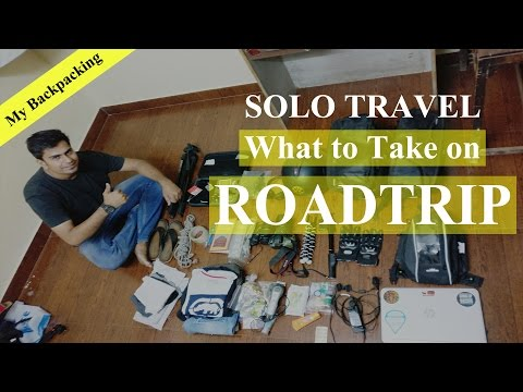 What to take with you on Roadtrip | Solo Travel Backpacking Tips & Guide