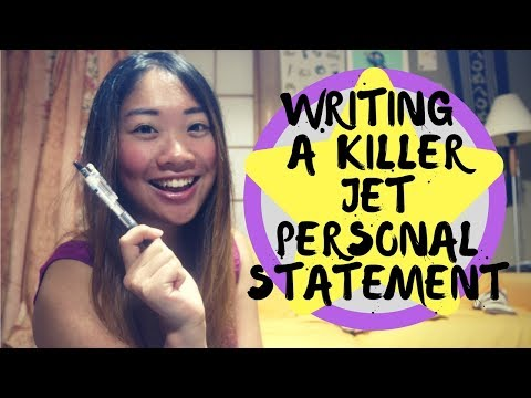 JET Program: Tips on Writing a Killer Personal Statement