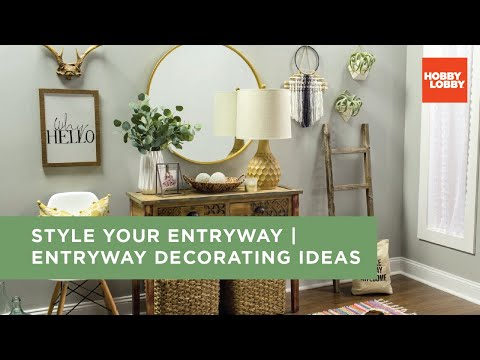 Style Your Entryway   Entryway Decorating Ideas   Hobby Lobby®