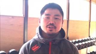 田中史朗選手が、4月8日(土)14時15分より、秩父宮ラグビー場で実施され...
