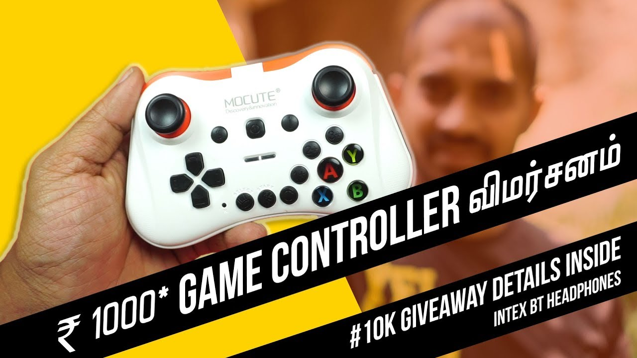 Mocute Game Controller - Play PUBG, Asphalt 9 Legends and many more games -  #10kgiveaway closed