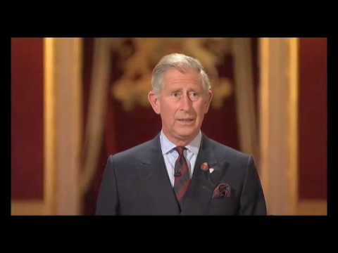 The Prince of Wales delivers the BBC Richard Dimbleby Lecture