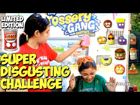 Eat It Or Wear It CHALLENGE | Egg Roulette Challenge | Grossery Gang LIMITED EDITION