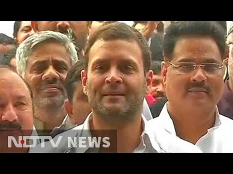 'PM and BJP must shed their arrogance', says Rahul Gandhi