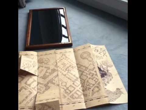 Karte Des Rumtreibers Marauder S Map Von Harry Potter Youtube