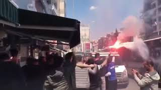 Video 158 | İzmirspor Tribünleri, Altınova Maçında Takımlarını Coşkulu Şekilde Destekledi ❗️