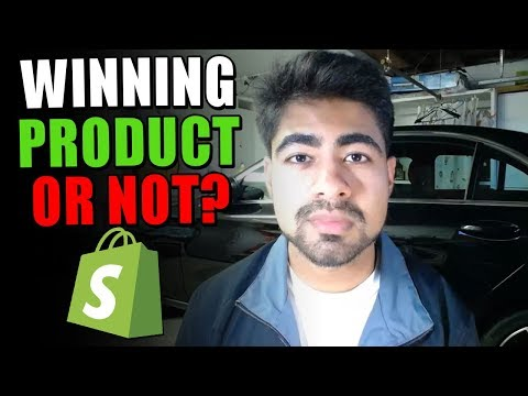 How To VALIDATE Winning Products For Shopify Dropshipping | COMPLETE Tutorial thumbnail
