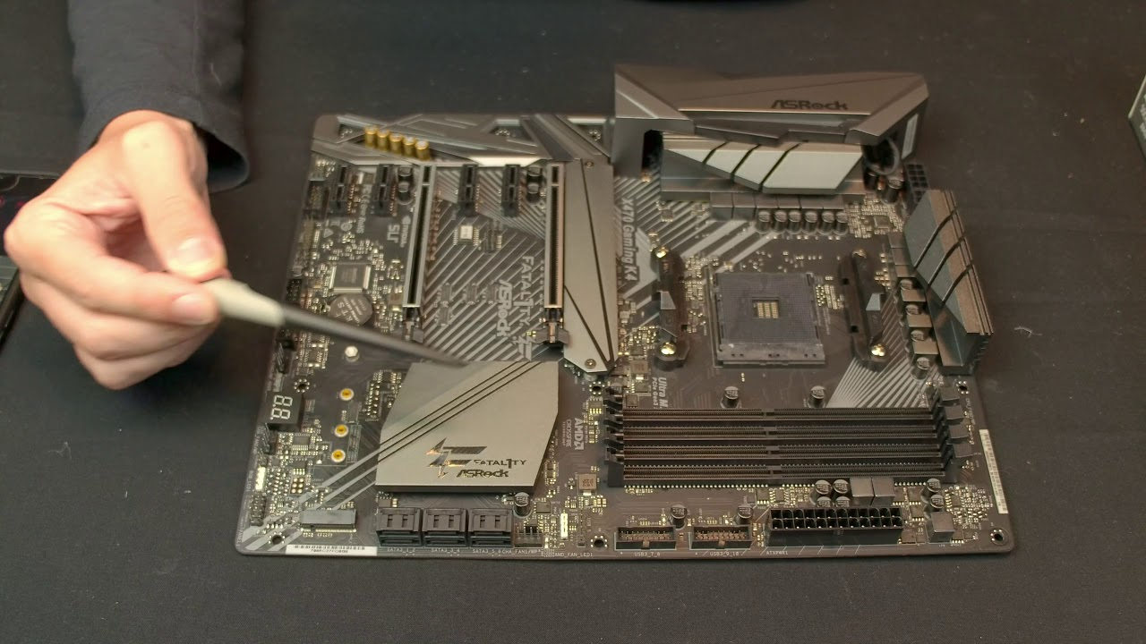 ASRock X470 Gaming K4 Motherboard Overview & Unboxing - Fatal1ty on AM4