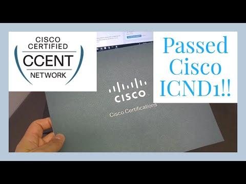 I GOT MY CCENT Certification!!!
