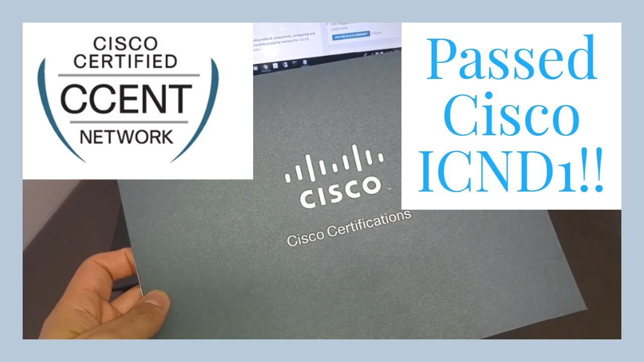 I Got My Ccent Certification Youtube
