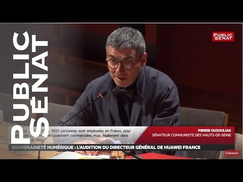 Audition Du Directeur Général De Huawei France - Les Matins Du Sénat (22/07/2019)