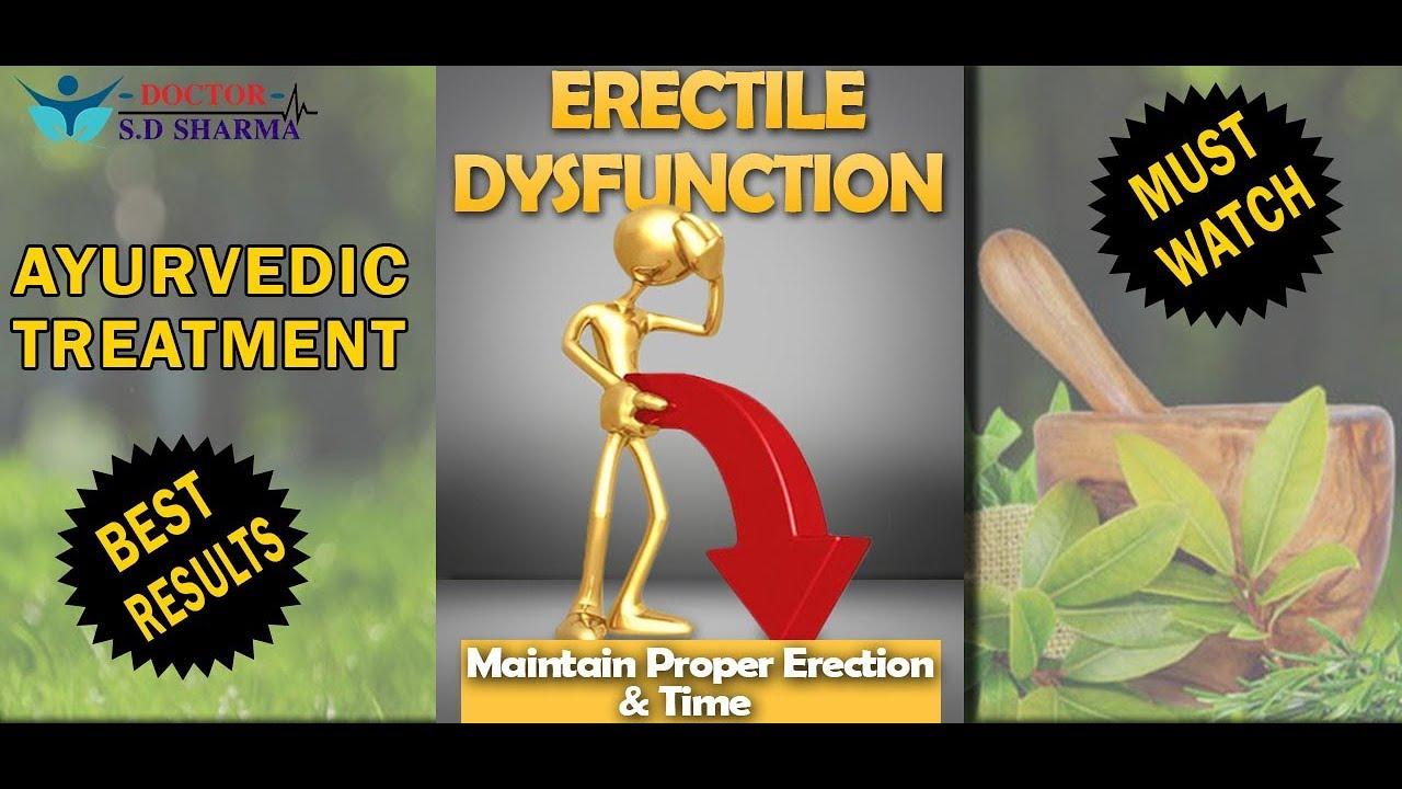 Erectile Dysfunction Ayurvedic Treatment Dr Sd Sharma Rajan