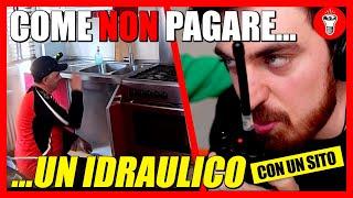 Come NON Pagare un Idraulico (con un Sito Internet) - [Candid Camera] - theShow