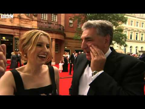 BAFTA tribute to Downton Abbey as cast film final scenes