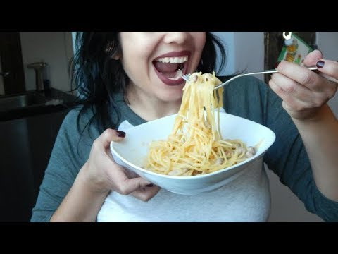 Espaguetis a la carbonara SIN NATA . Receta original