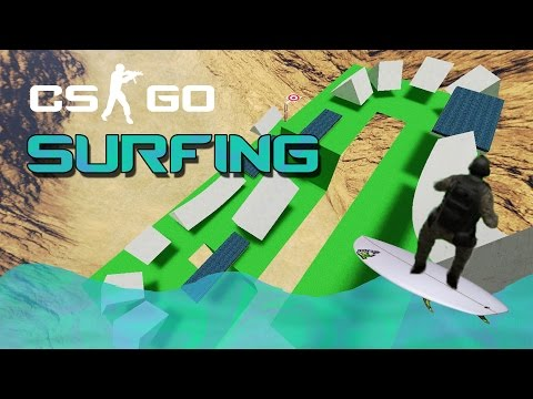 CS:GO : Surfing ft. FireMix - Да НЕ хванеш вълната ... 🌊